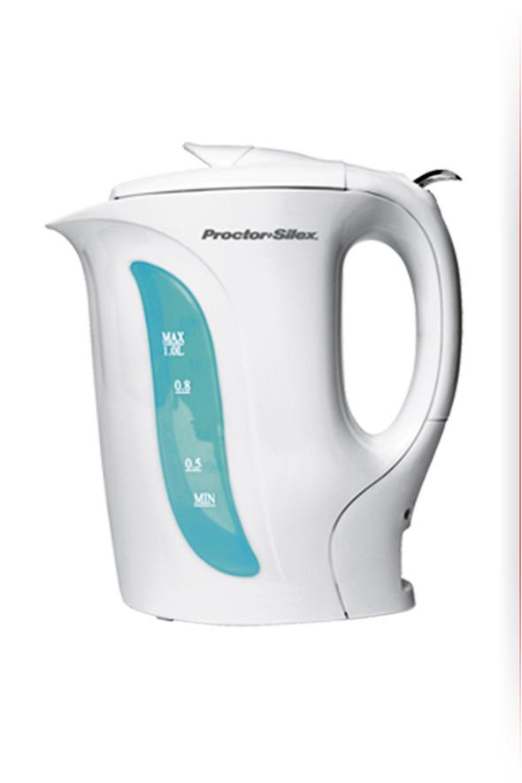 Hervidor de agua proctor silex k2070y color blanco - Hervidor de agua electrico ...